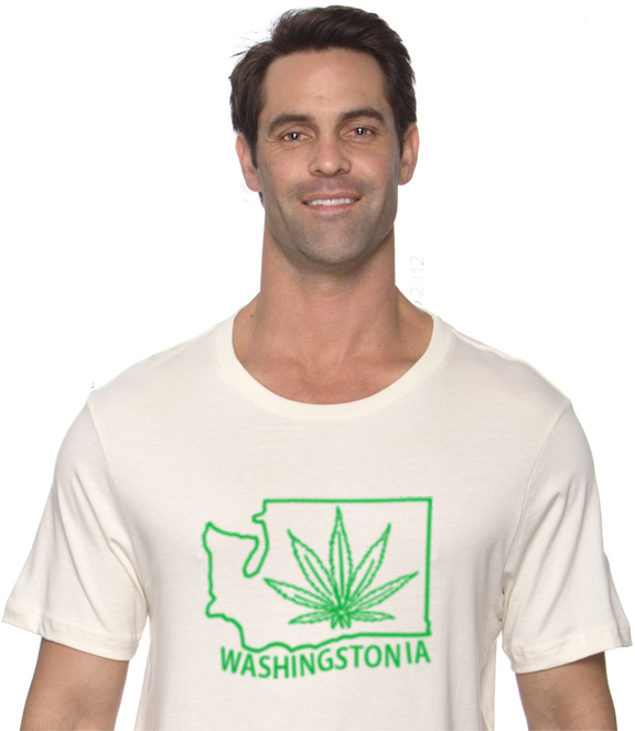 Washington Marijuana Cannabis Legalization t-shirt washingstonia christwilson.com